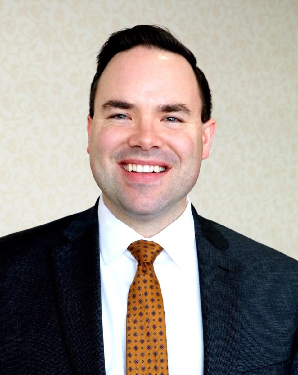Manitoba School Boards Association president Alan M. Campbell