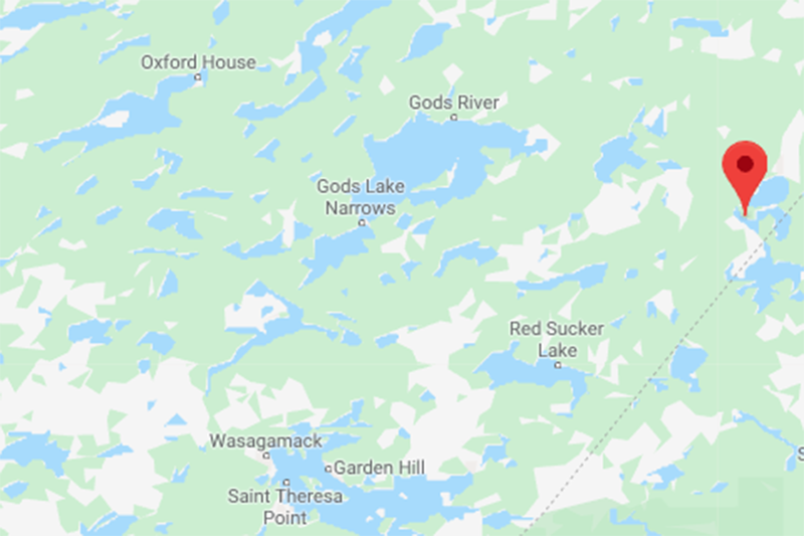 Little Stull Lake is located in northeastern Manitoba near the Ontario boundary and within the tradi