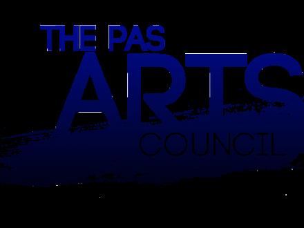 the pas arts council logo