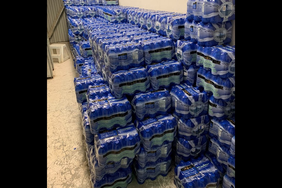 Tataskweyak Cree Nation residents have had to rely on bottled water for drinking since a boil-water advisory for the First Nation was put in place in the spring of 2017 following flooding.