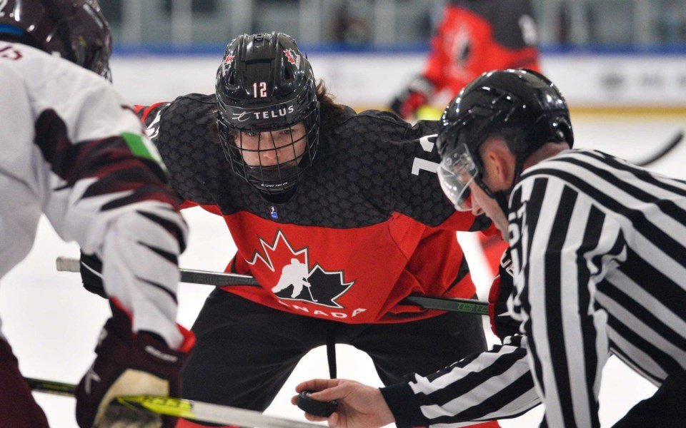Misipawistik Cree Nation member Conner Roulette is a left winger with the Seattle Thunderbirds in t