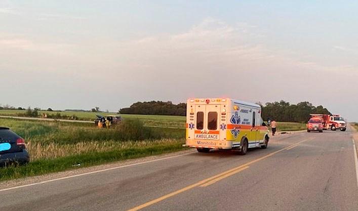 A highway crash in July.