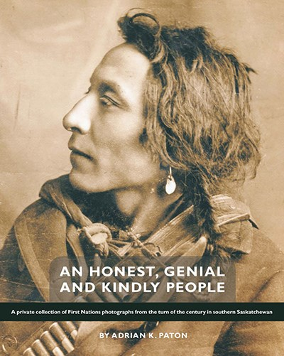 A photo of Washegenesh graces the front cover of Paton's book. Washegenesh became an important chief in Saskatchewan. (photo submitted)