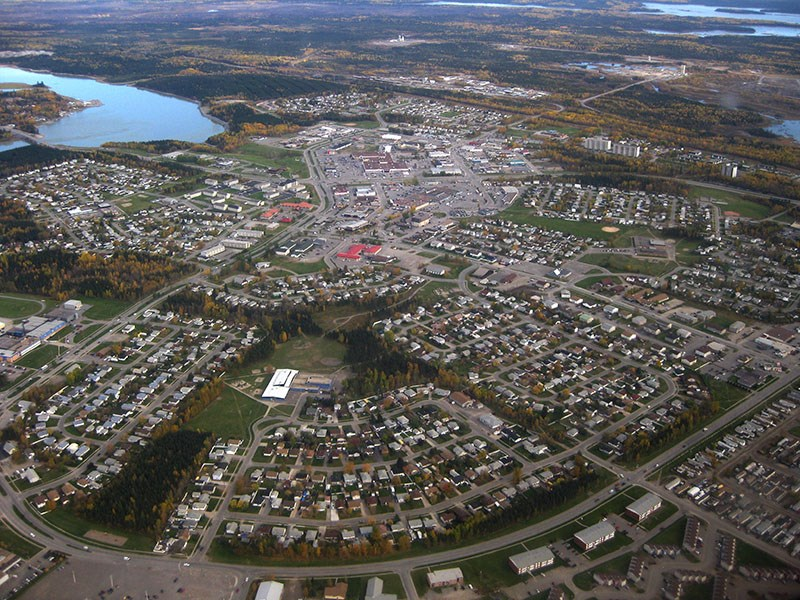 thompson aerial view