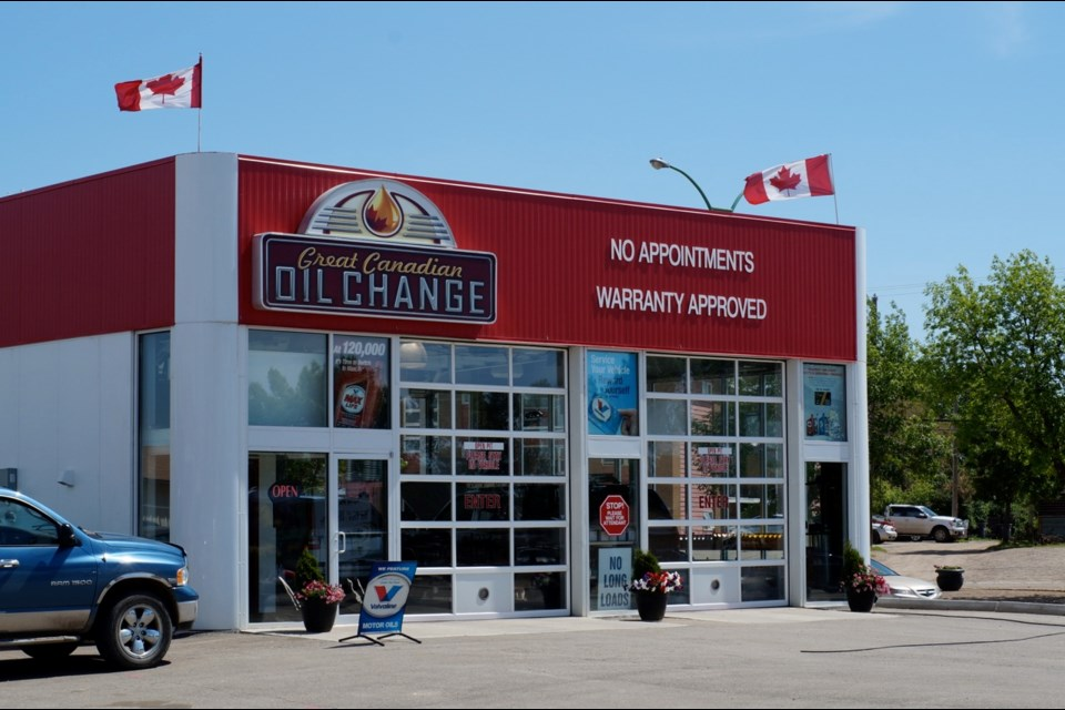 The Great Canadian Oil Change has been serving customers in the Estevan area for 10 years. They will host a fundraiser at the end of this month. Photo submitted