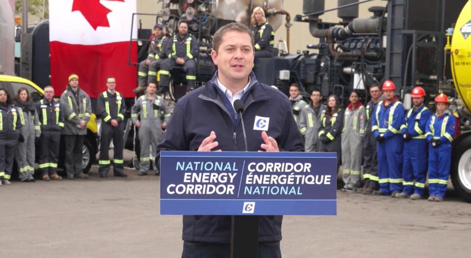 Andrew Scheer National Energy Corridor
