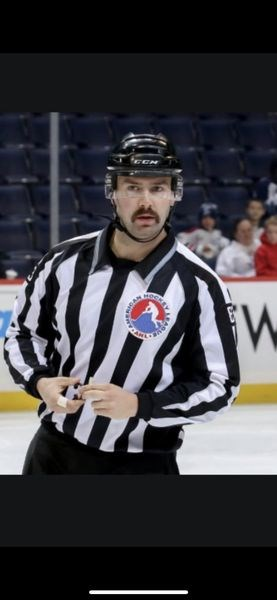 Tarrington Wyonzek recently signed a contract to work as a full-time linesman in the AHL (American Hockey League) and ECHL (East Coast Hockey League). His first ECHL game is scheduled for October 11 in Norfolk, Virginia.