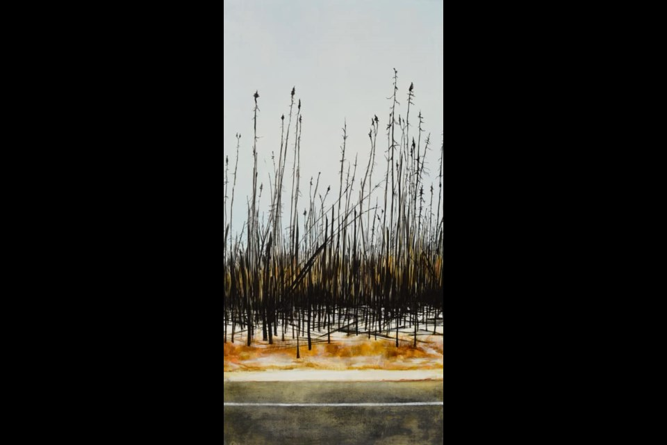 """""""Now that's some easy wood right there"""", a painting by Denare Beach artist Catherine Joa, is now part of the Saskatchewan Arts Board's permanent collection. - SUBMITTED PHOTO"""