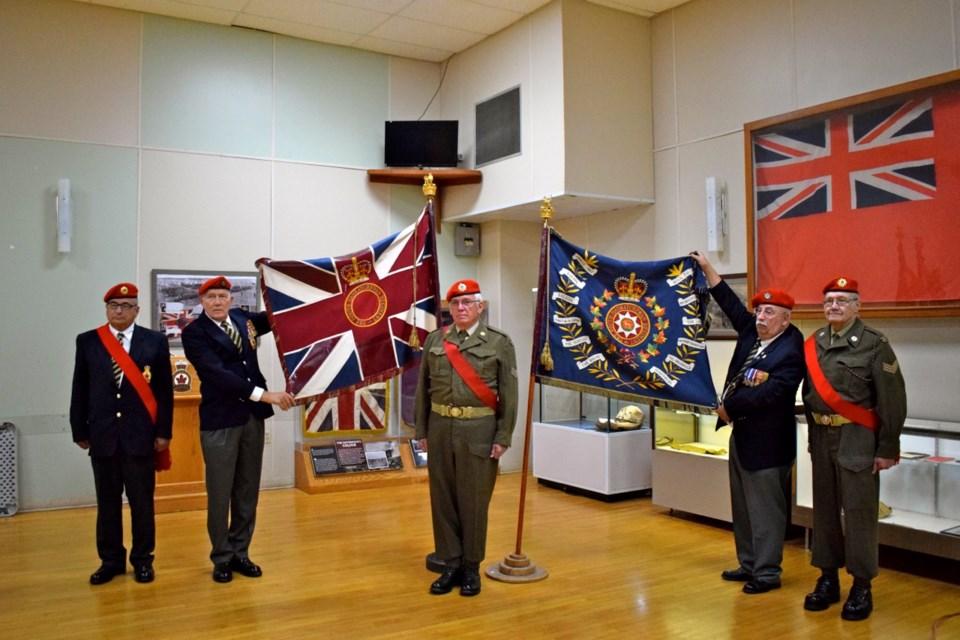 South Saskatchewan Regiment's colours