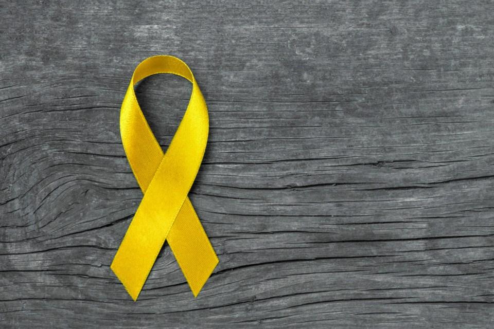 Suicide Prevention ribbon