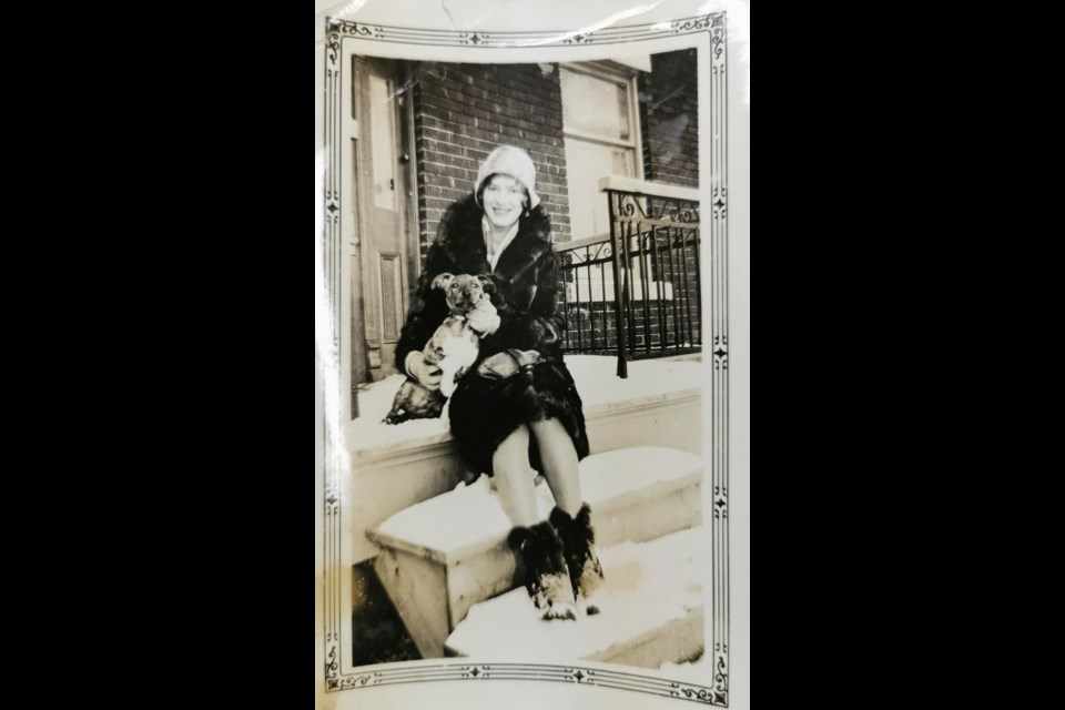 This photo of an unidentified woman is stored in the History Room at the Kamsack Public Library.