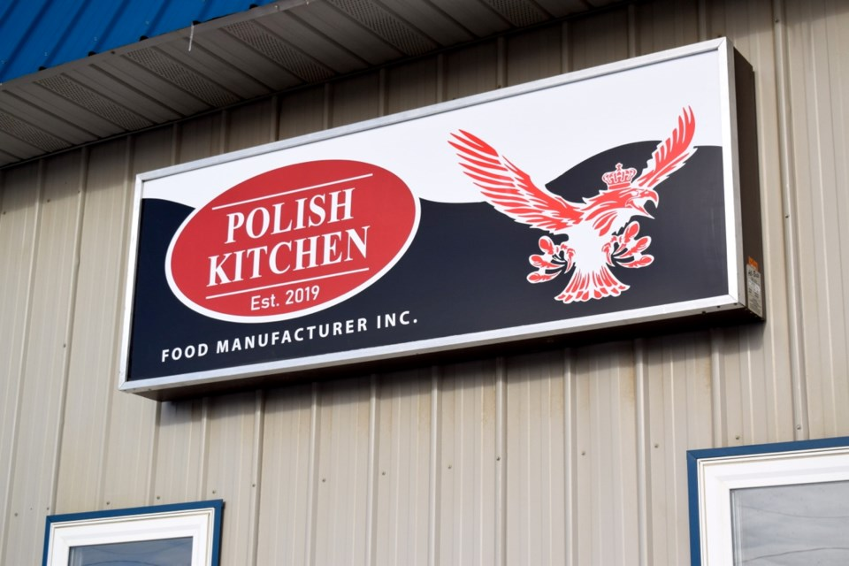 The Polish Kitchen factory is located on Sixth Street.