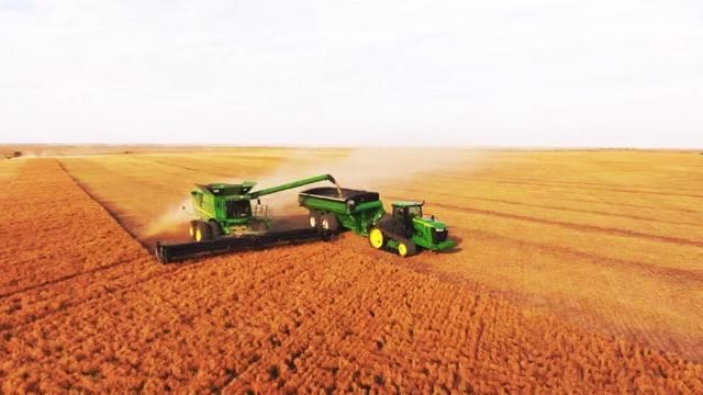 harvest drone pic