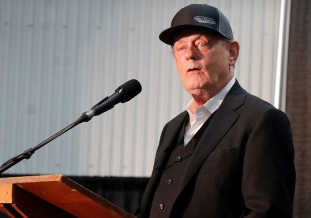 Rex Murphy at Oil Show