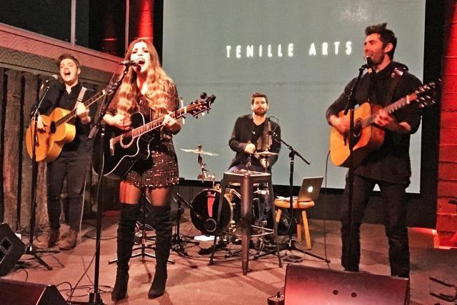 Tenille singing