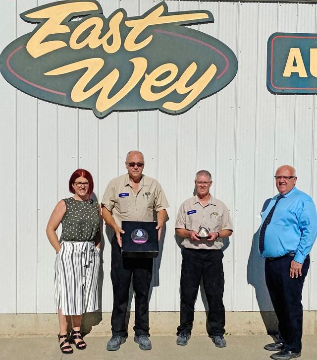 East Wey award