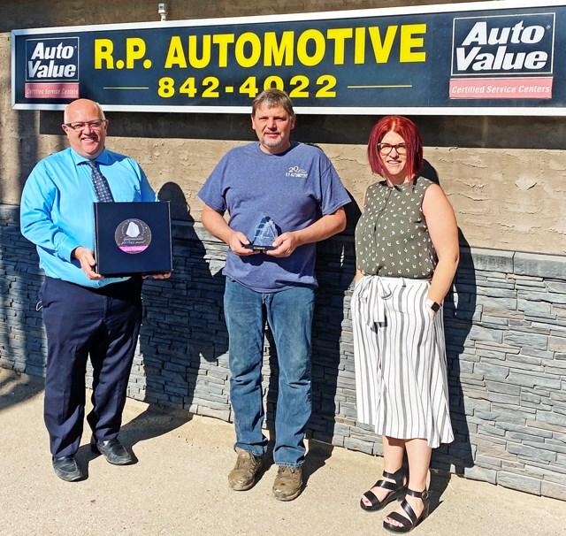 RP Automotive award