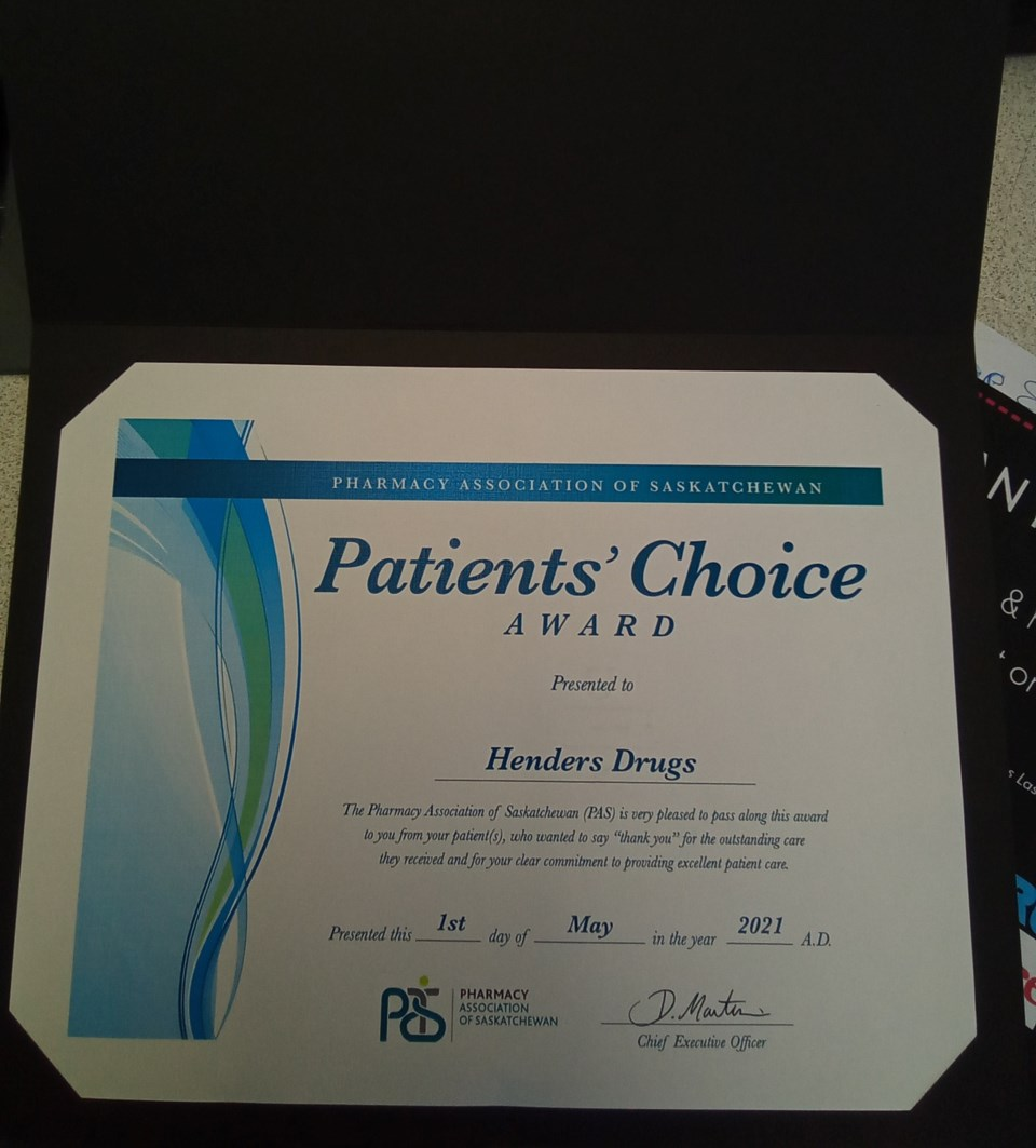 Henders award