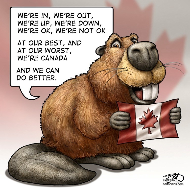 Canada Day by Patrick Lamontagne