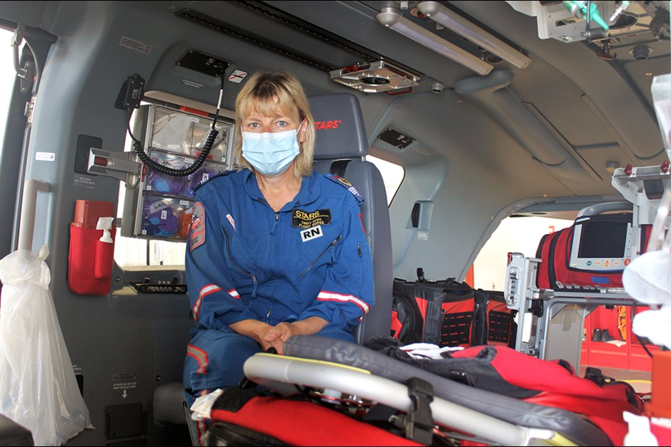 STARS base operator Cindy Seidl said the new aircraft will allow medical teams to provide better, more efficient care even more quickly than before.
