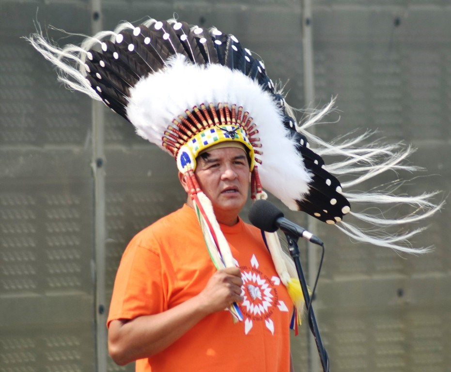 Federation of Sovereign Indigenous Nations Chief Bobby Cameron