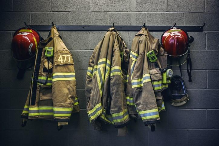 fire gear getty