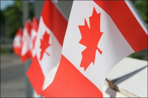 Canadian flag pic