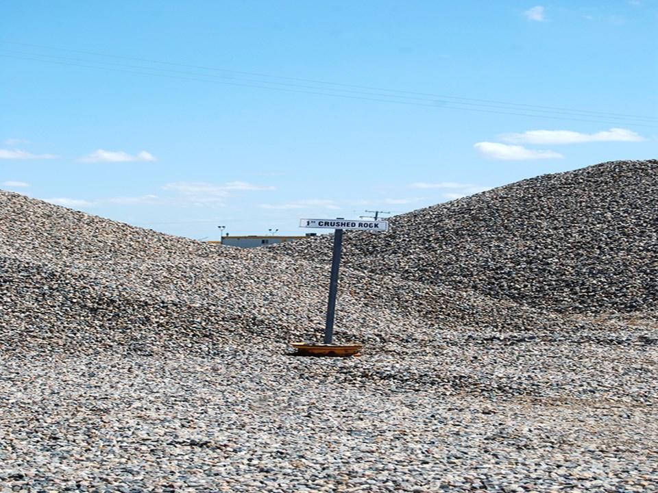gravel pit near Turnbulls