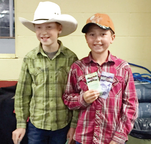 First in the youth category was a team comprised of Kreece Hrabarchuk, left, of Fort MacMurray, Alta. and Ryder Helmeczi of Esterhazy.