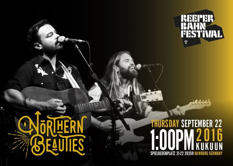 Todd Stewart, left, and former Kamsack resident Craig Aikman are two members of The Northern Beauties, a Calgary-based western and folk band that is performing at the Reeperbahn Festival in Hamburg, Germany this week.