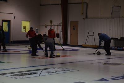 Open curling is held every Tuesday and Thursday, and it has attracted several senior curlers who are perhaps preparing for the seniors' bonspiel from January 16 to 20.