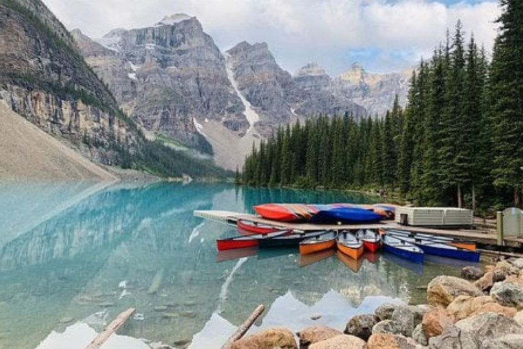47 HSG - Paddling in the Canadian Rockies