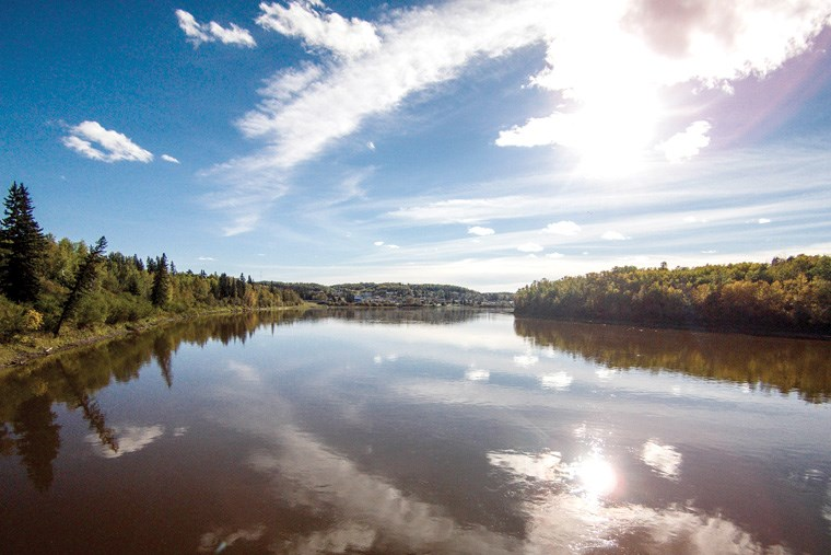 8 HSG - Athabasca River Drone-JW_