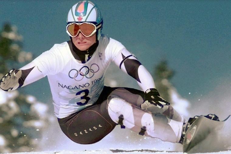 Ross snowboarding