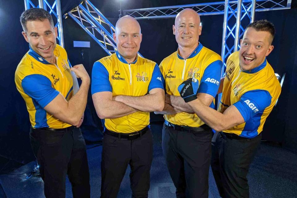 Team Koe, photo courtesy of TSN
