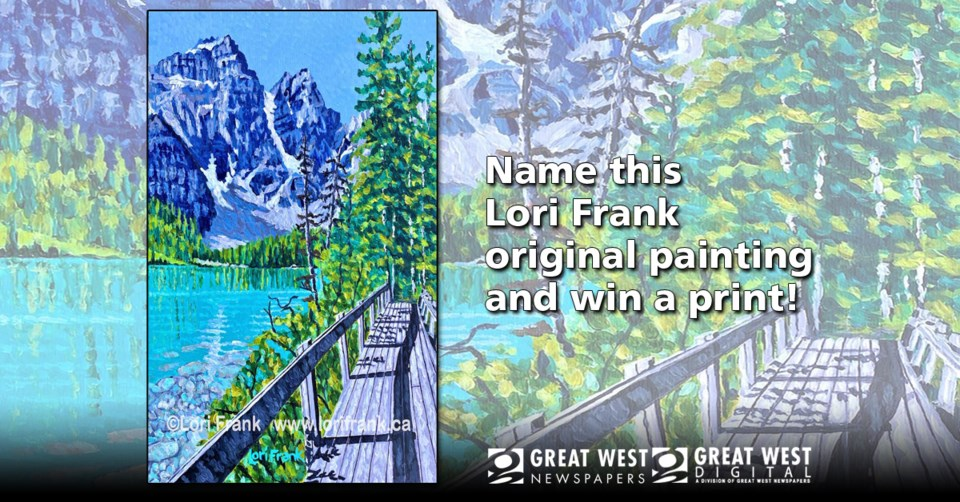 Lori Frank Painting Contest image