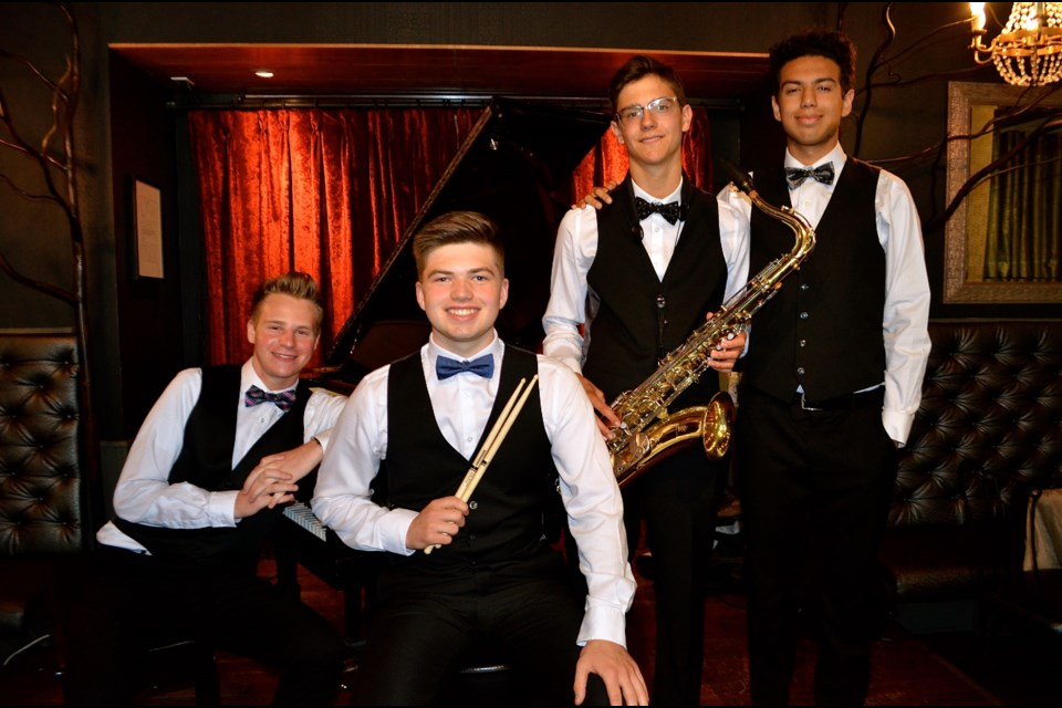 The Valet Jazz Quartet featuring Tristan Culbert, Andrew Schoettler, Jakob Durst and Josh Collesso will be playing Manhattans Sep 13. Troy Bridgeman for GuelphToday