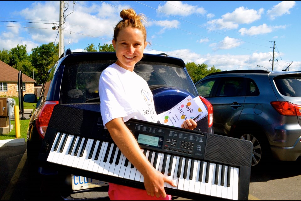 Traveling music teacher Emilee Mae-Feely continues to break new ground with Feely Music.  Troy Bridgeman for GuelphToday.com