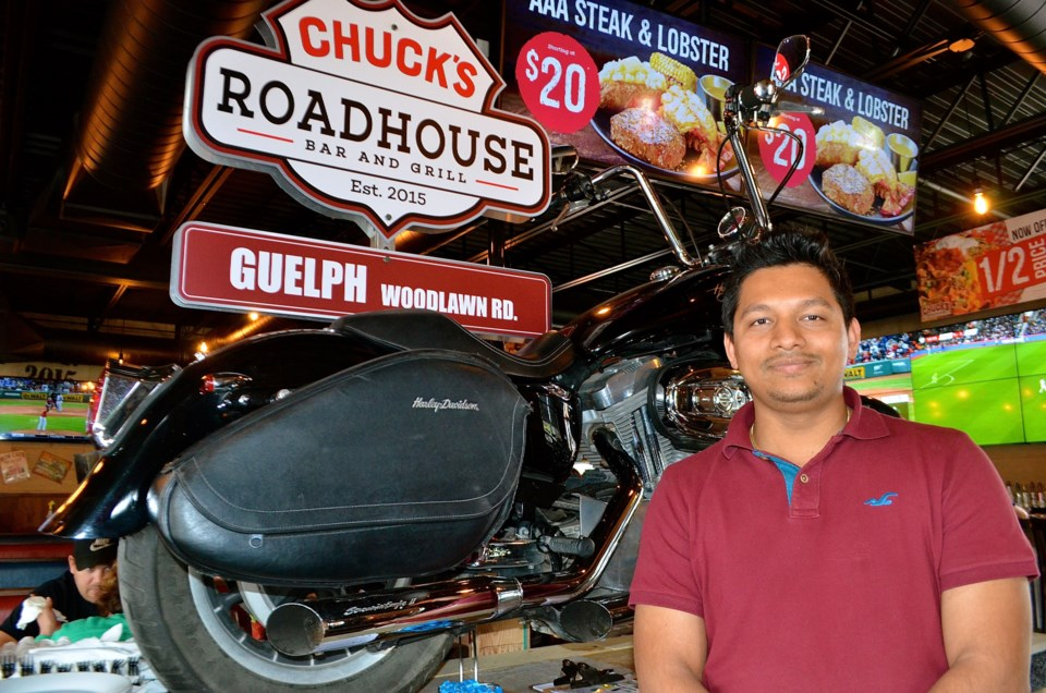 2019 09 10 GT – Whats Up Wednesday Milan Champaneria of Chucks Roadhouse – TB 01