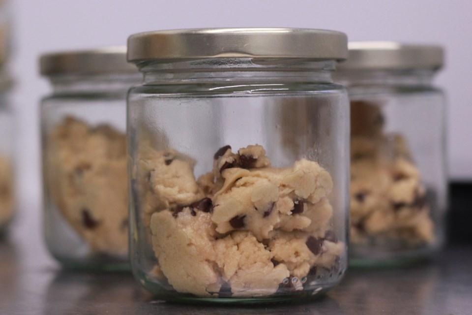 Bliss Dough jars. Anam Khan/GuelphToday