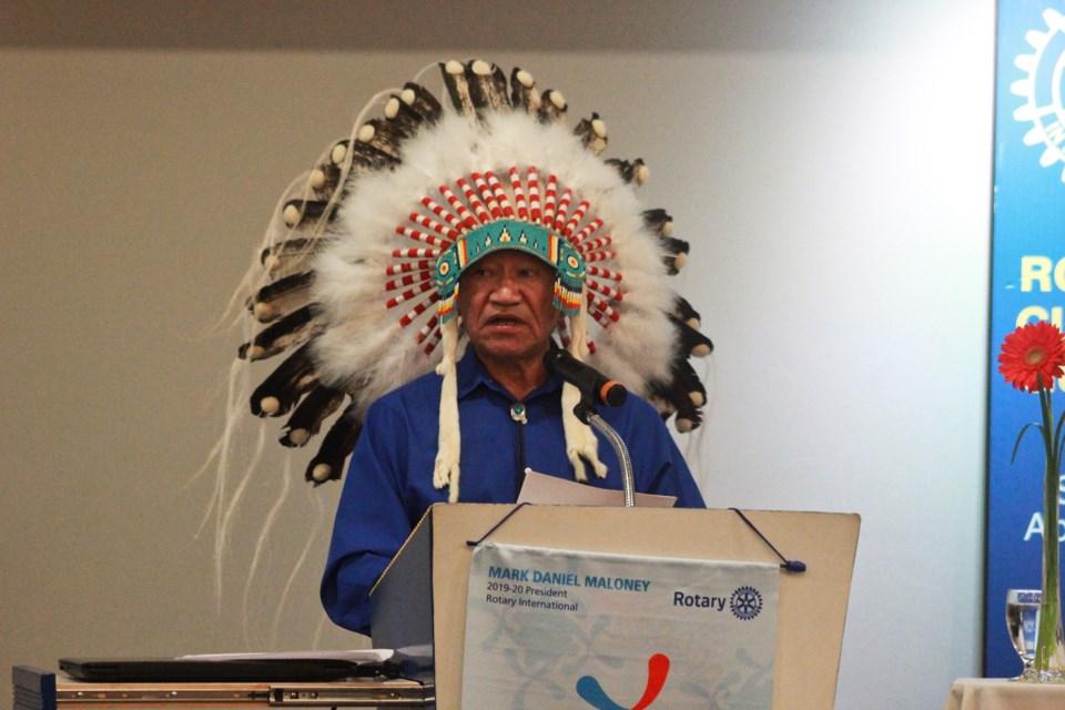 Indigenous author Edmund Metatawabin. Anam Khan/GuelphToday