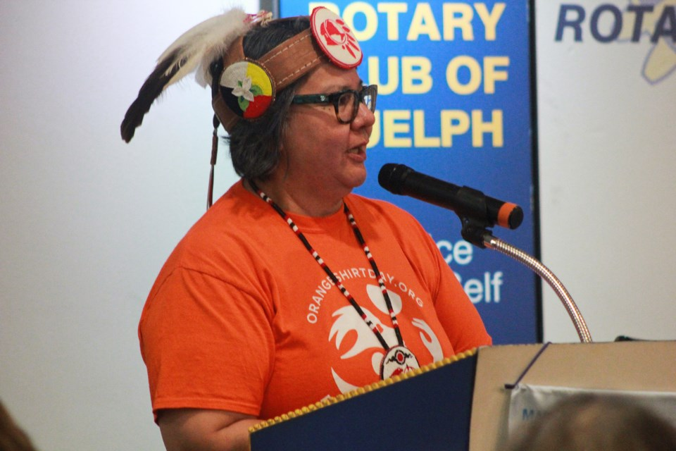 Ontario Regional Chief of Taykwa Tagamou Nation RoseAnne Archibald. Anam Khan/GuelphToday