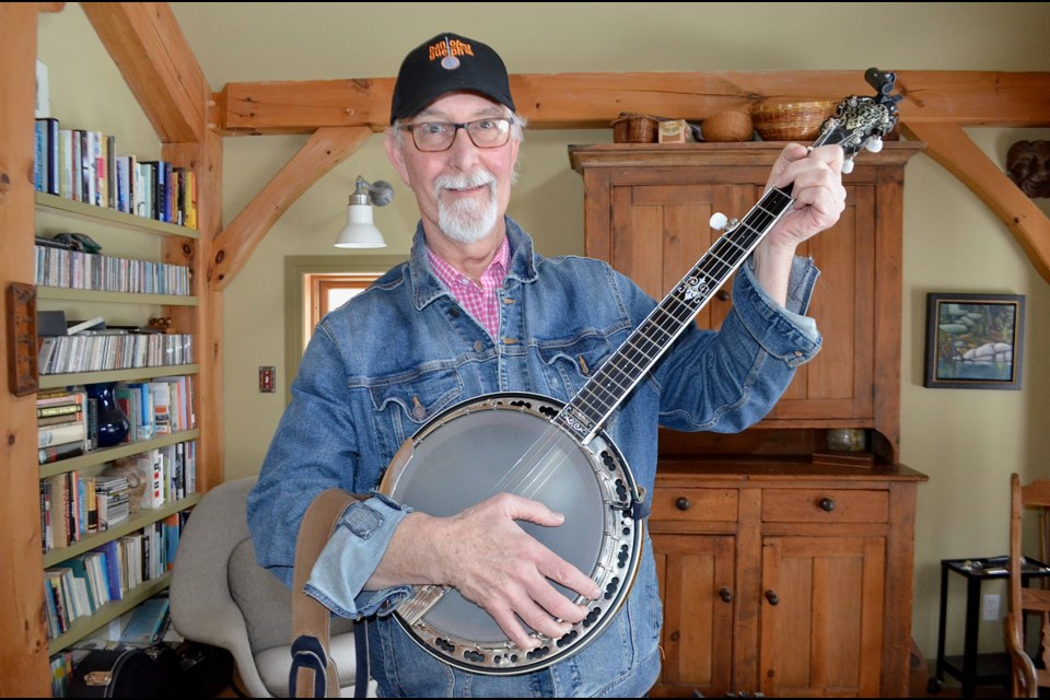 Banjofest founder Ian Molesworth has been picking and grinning since he was 14 years old. Troy Bridgeman/GuelphToday