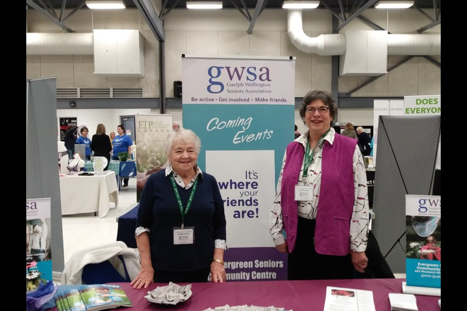 GWSA volunteer Darlene Pembleton and membership and marketing committee chair Connie Shaw – supplied photo