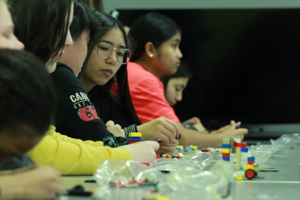 Lego building. Anam Khan/GuelphToday