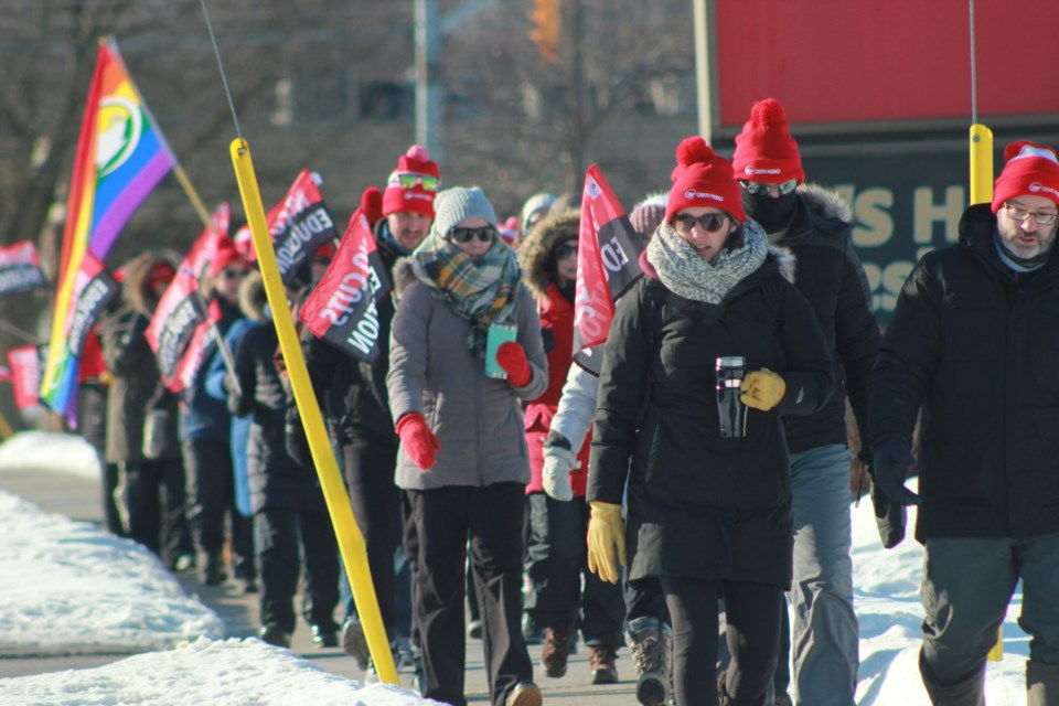 Homes For Sale In Guelph Ontario >> Day of 'solidarity' say union members of Ontario's largest ...