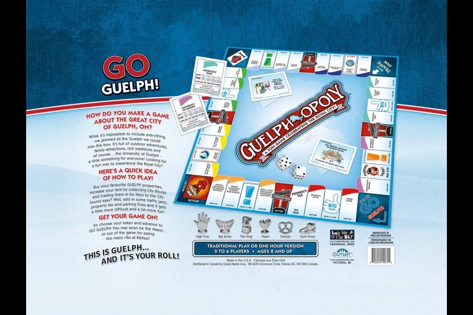 Guelph Opoly Game Celebrates Guelph Landmarks And Festivals Guelphtoday Com