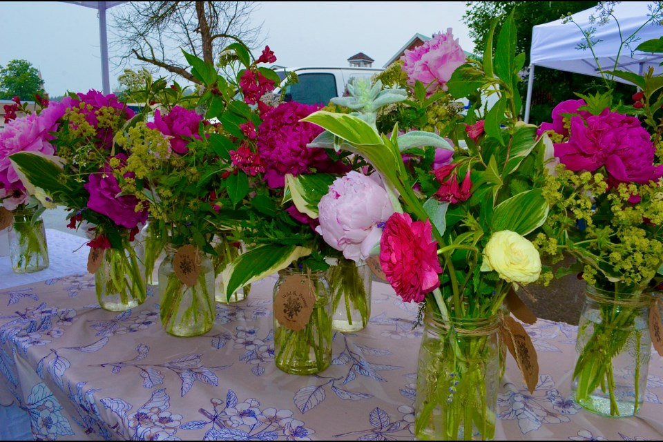 Nothing brightens up a rainy day like a bouquet of fresh cut flowers.