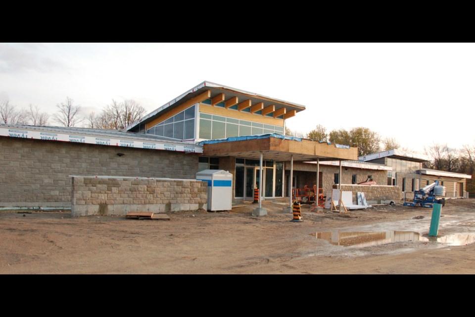 New Guelph Humane Society building, front entrance. Richard Vivian/GuelphToday