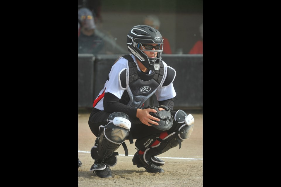 Guelph's Kaleigh Rafter will participate in the 2020 Summer Olympics as catcher for the Canadian women's softball team. Photo courtesy of Softball Canada.